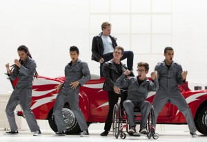 grease on glee