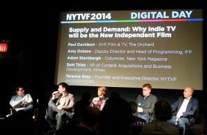 NYTVF panel