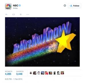 NBC Twitter