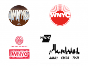 WNYC logos