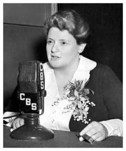 "Mary Margaret McBride, aka ""Martha Deane."""