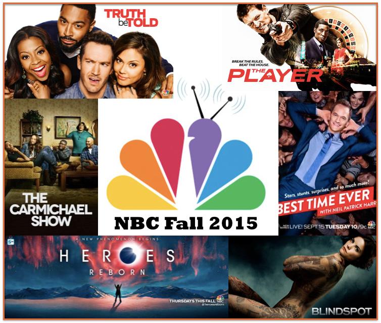 Fall Premieres 2015: NBC